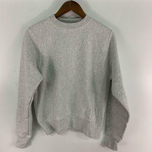 Champion Reverse Weave Grey Sweatshirt